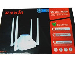 TENDA 300mbps F6 2.4ghz 4port Access Point Router 4x5 dp Anten